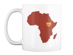 African Beat Mug - $15