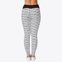 Bold Black Beautiful Leggings - $30