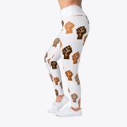 Fists Up Leggings - $30