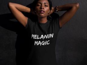 Melanin Magic Tee - $22