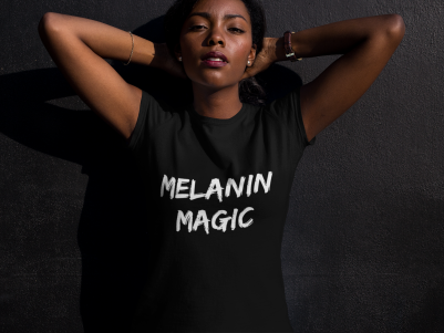 Melanin Magic Tee - $20 or 2 for $30